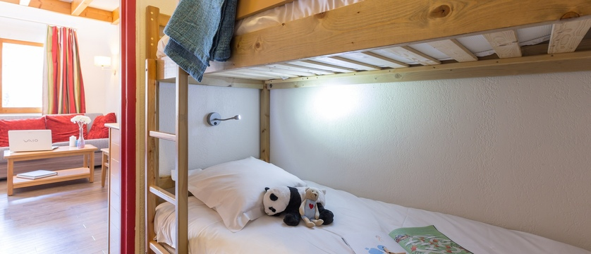 Les Ravines Apartments bedroom/Lounge